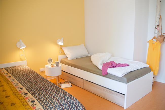 Frauenhaus Norderstedt - Einblick Zimmer